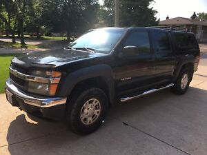 2005 Chevy Colorado 4x4 Crew cab