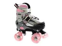 Adjustable Girls Roller Skates