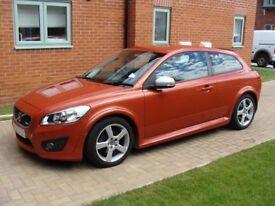 2010 VOLVO C30 R DESIGN 2L 134BHP AUTOMATIC W/LEATHER SEATS £4999 ONO