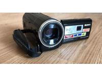 Handy cam digital projector