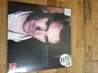 "Morrissey HMV gold vinyl lp 12"" Vauxhall and i rare and collectable"