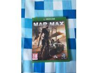 Xbox one mad max perfect condition