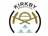 Kirkby AFC are looking for players of all abilities/ positions for the 2017/18 season