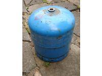 Camping gas gaz bottle cylinder. 907 also Calor gas bottle 4.5Kg