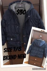 Boys winter jackets