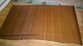 A pine door, blinds and shelves for sale - L15 Must be able to collect heavier items