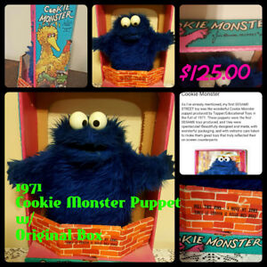 1970's Cookie Monster Puppet