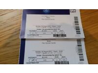 Bros concert tickets x 2 London O2