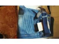 Mens jeans waist 38 length 32