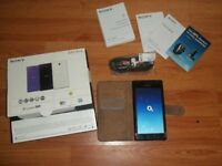 Sony xperia M2 mobile phone in O2