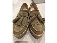 MANGO platform/loafers
