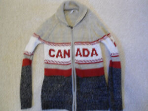 'Canada' Knit Sweater Jacket - Size XS - EXCELLENT Condition