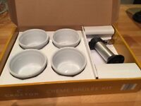 Creme brûlée maker kit, kitchen blow torch/ramekins, Jamie Oliver, Heston Blumenthal etc,BNIB, Gift