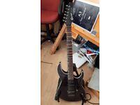 Smoky Black Crafter Super Strat Electric Guitar