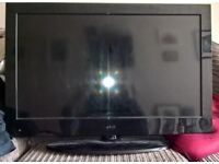 "JMB 32"" LCD TV with built in dvd player"