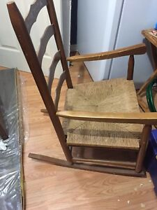 Classic Antique Rocking Chair