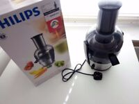 JUICER (until 17 August!): Philips HR1863 Viva Collection Juicer, 2 Litre, 700 W - Brushed Aluminium