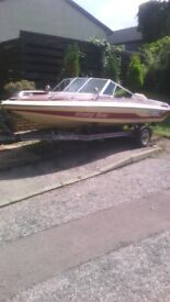 speed boat and galv trailer