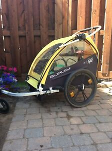 Burley two-seater bike trailer/jogger
