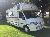 Peugeot fenlander campervan only 15000 miles