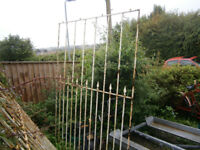 large railings / wrought iron screens in yeovil