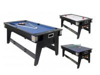 6 foot Multi Games Table
