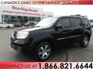 2015 Honda Pilot TOURING | 1.99% FINANCE | HONDA WARRANTY | 1 OW