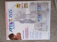 Breast Pump and Feeding Bottles (for Breastfeeding Mums - Avent Isis)