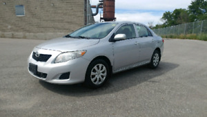 2009 TOYOTA COROLLA....ONE OWNER..ACCIDENT FREE!!