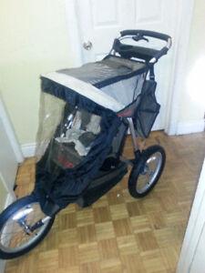 INSTEP  jogging stroller like new
