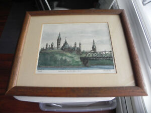 Original watercolour by international artist Rosemary Randell