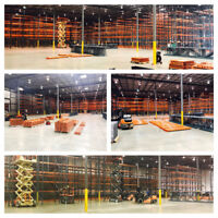 Pallet Rack Installers & General Labourers Needed A.S.A.P!!!!!!