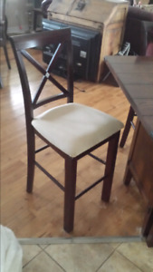 Bar type chairs