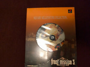 [Japanese Import] Front Mission 3 Millennium Collection PS1