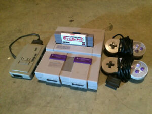 Super Nintendo /w EverDrive Cartridge, $350 OBO **NEED GONE**