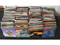 JOBLOT OF APPROX 600 7' RECORDS. ROCK/PUNK