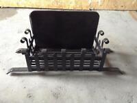 Reclaimed Dog Grate Fire Basket