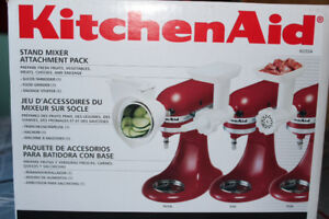Kitchen aid attachment pack