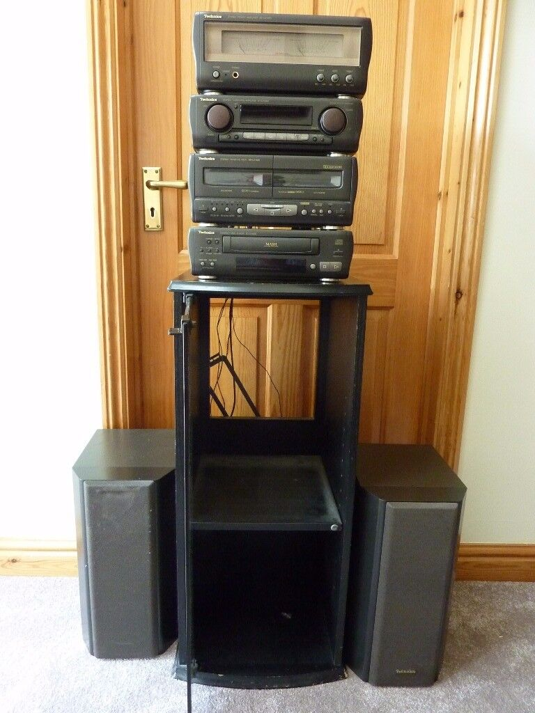 Technics SC-CA1080-SC-CA 1060 CD Stereo System with Glass Fronted ...