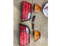 BMW e36 lights front indicator and rear lights