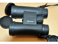 HELIOS WILDLIFE 10X42 WATERPROOF BINOCULARS - AS NEW!