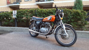 MINT TURN KEY CB360T WITH SAFETY. 2743 ORIGINAL MILES!