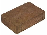 Block Paving Charcon, Woburn, Rustic Colour, Square 134 x 134 x 60 - 8.35m2 Sealed Pack