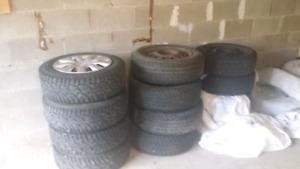 Toyota Winter Tires with rims  (Corolla, Yaris , Camry, Lexus)