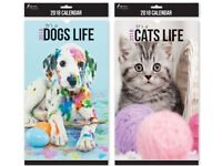 2018 DOG OR CAT CALANDARS BRAND NEW GOOD IDEA FOR A GIFT