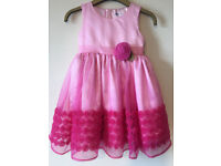 Pink Girl's Party Dress / Frock / Bridesmaid / Flower Girls