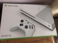 Xbox One S Console, 500GB, White, Boxed