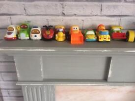Toy car selection