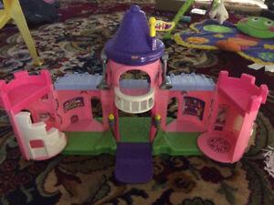 Little People Pink Kingdom Castle