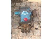 Cat pump pressure washer jet drain pump